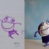 Les superbes réalisations de Wendy Tsao à partir de dessins d'enfants