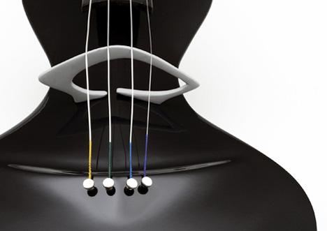 violon Gavari, détails