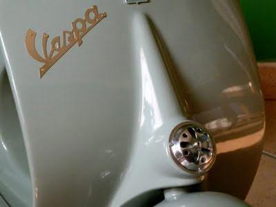 Scooter Vespa à bascule