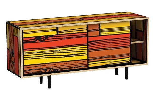 Meubles wrongwoods des meubles haut en couleurs - Couleur de meuble ...