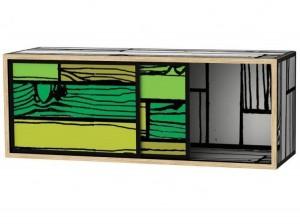 Meubles wrongwoods des meubles haut en couleurs - Meuble rangement mural ...