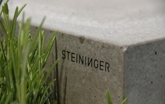 Cuisines en béton Steininger