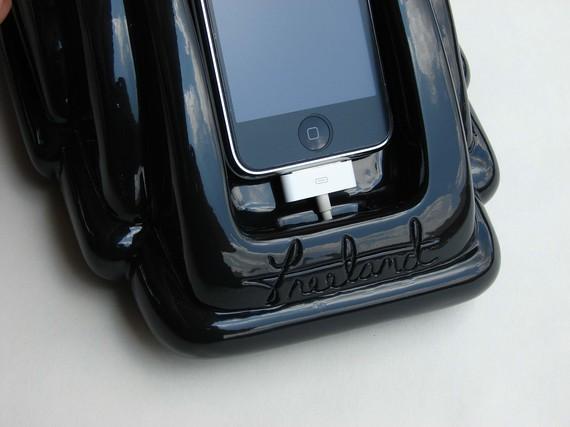 Base d'accueil iretrofone pour iphone