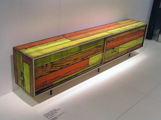 Meubles wrongwoods des meubles haut en couleurs - Meuble de couleur ...