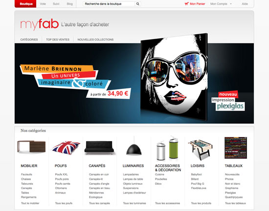 site internet myfab
