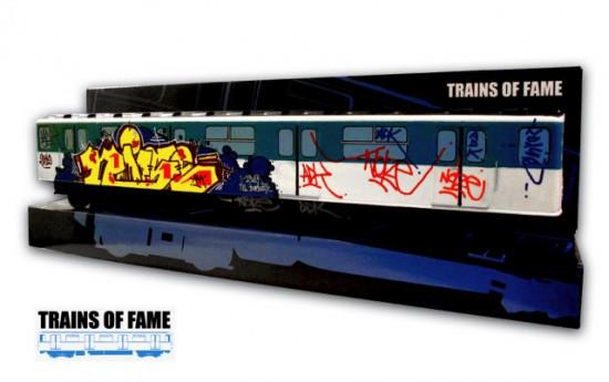 Trains of Fame graffiti