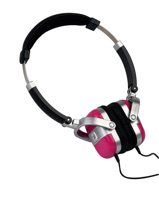 Casque audio stéréo vintage T'nB Txb - Xtrem Bass - rose