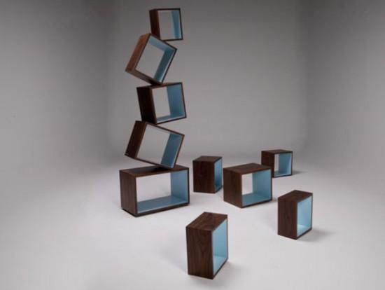 Bibliothèque, étagère Equilibrium