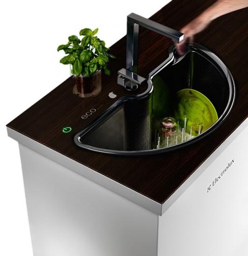 Evier lave-vaisselle Electrolux Eco