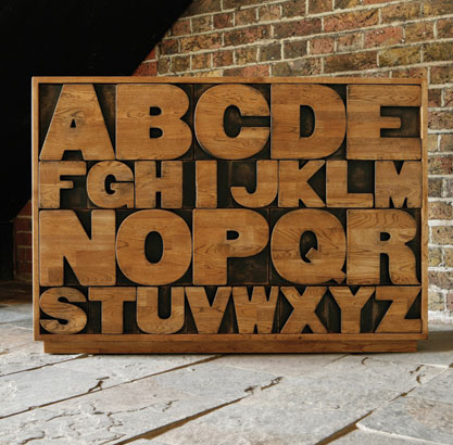 meuble alphabet à 26 tiroirs