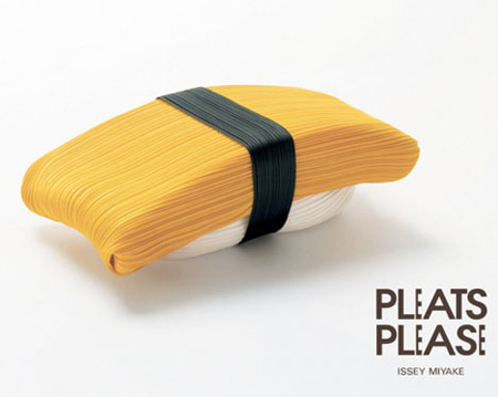 Pleats Please Sushi d'Issey Miyake