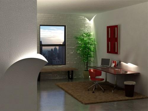 concept Torn lights