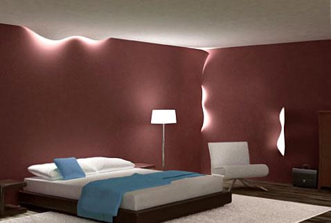 concept d'éclairage Torn lights