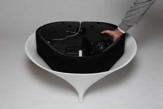 Table basse Acoustable - montage