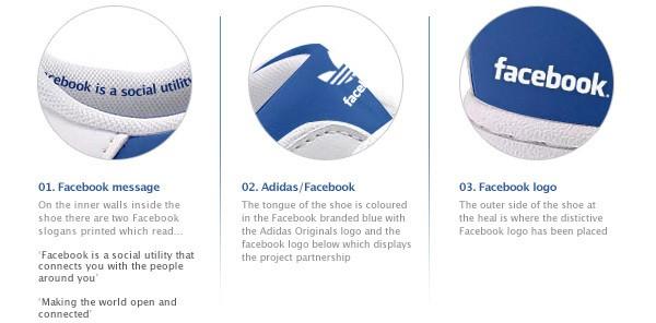 Adidas Facebook - détails