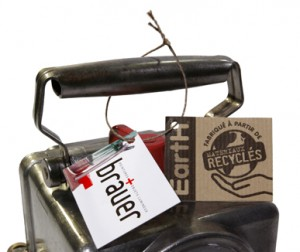 Objets lumineux recyclés