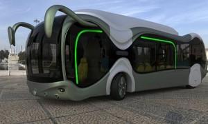 Concept de bus écologique Credo E-Bone