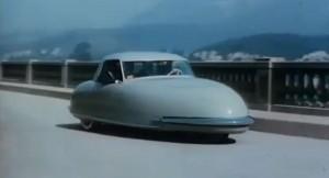 Concept car dans les années 50