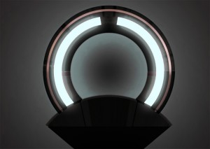 lampe anneau de Loris Bottello