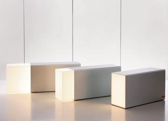 lampe gomme (Eraser Lamp)