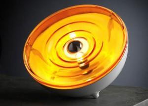 lampe à poser Moon Orange