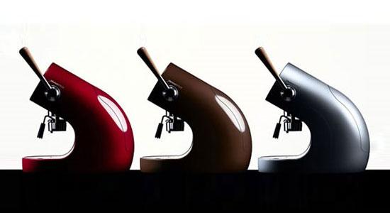 Machine à café design Brunopasso