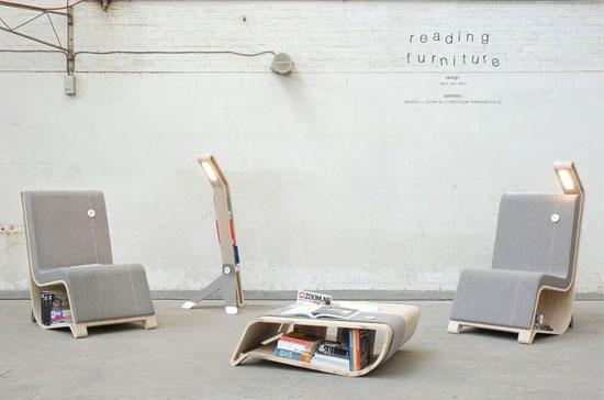 Meubles de lecture - fauteuil