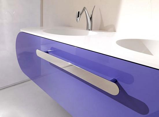 meubles de salle de bains design modèle Miami