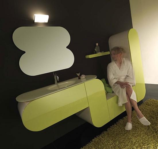 Salle de bain design modèle San Francisco