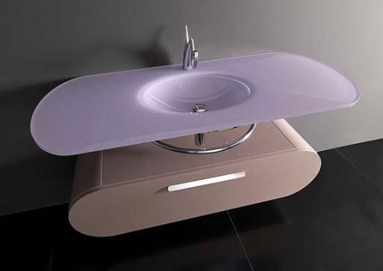 meubles de salle de bains design modèle Santiago