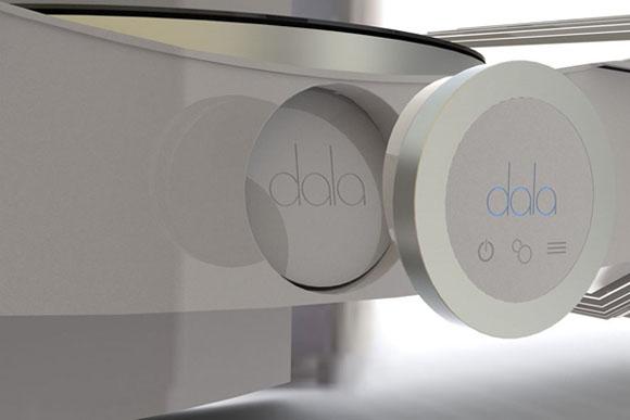 platine vinyle Dala - télécommande