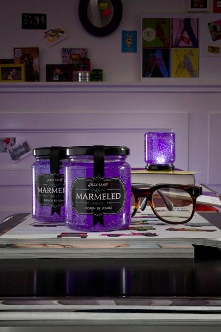 Lampe Marmeled violette