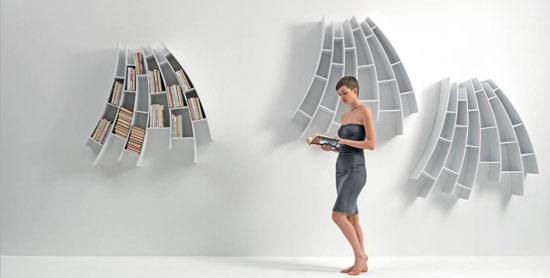 meubles Saba Italia - bibliothèque murale