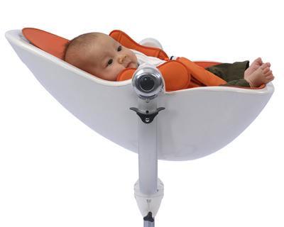 Chaise haute pour enfants - position transat