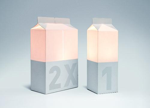 lampes 2x et 1