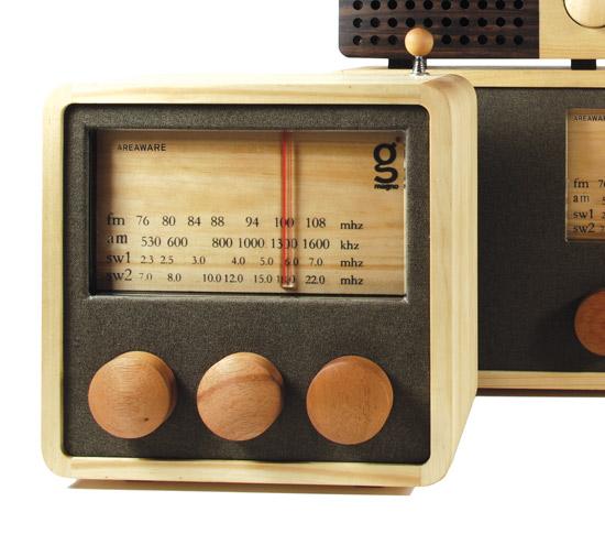 Radio Magno - radio en bois