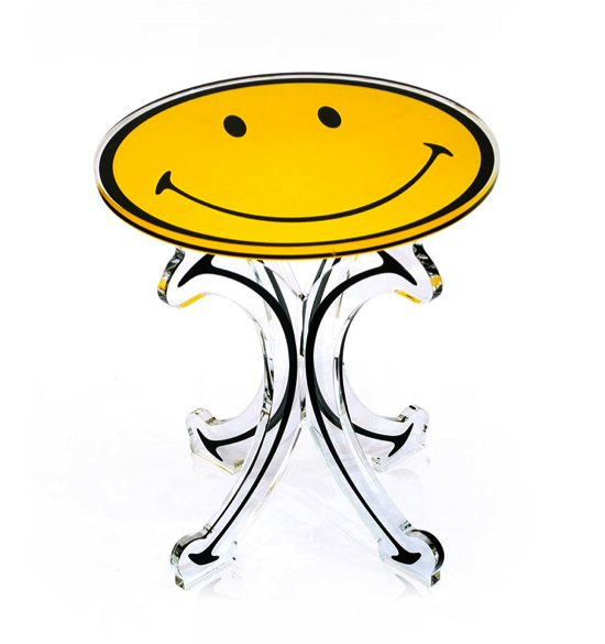 Table bistrot gamme Smiley