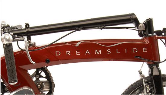 Vélo dreamslide avec innovation APS