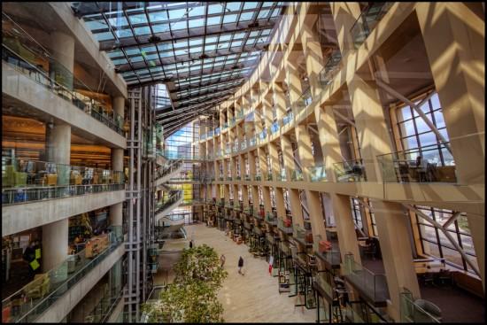 Bibliothèque de Salt Lake City (UT) USA