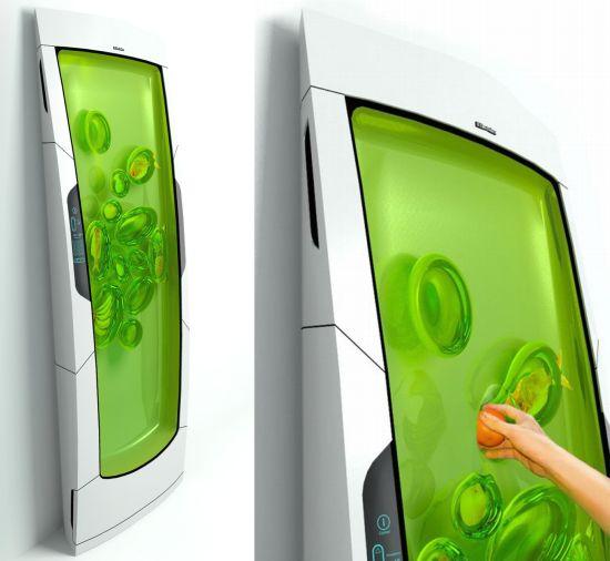 réfrigérateur du futur par Electrolux