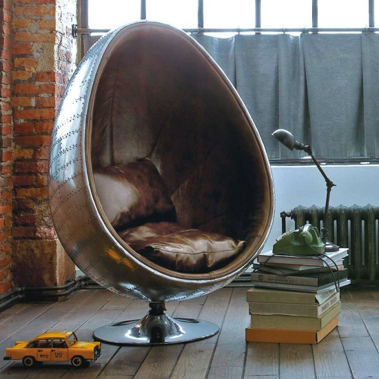 Fauteuil coquille