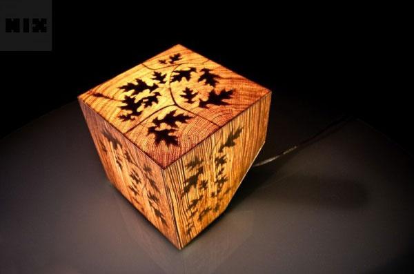 Lampe Cub allumée