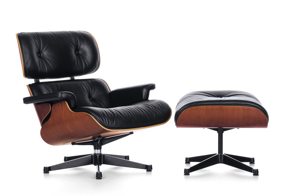 fauteuil design loung chair de charles et ray eames 1956