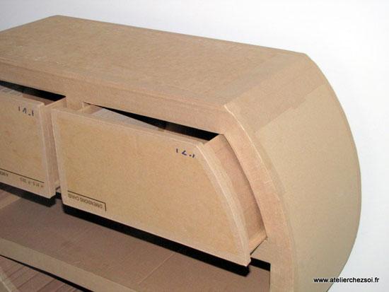 Meubles carton l'Atelier chez Soi - kit