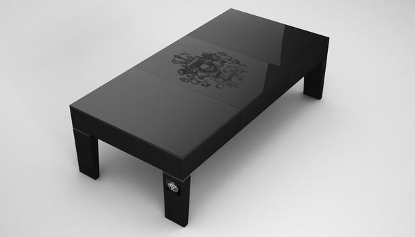 Table basse Ventury Paris - Série Royal Rock
