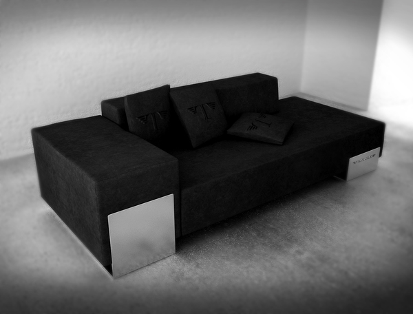 Sofa Ventury Paris - vue 3/4