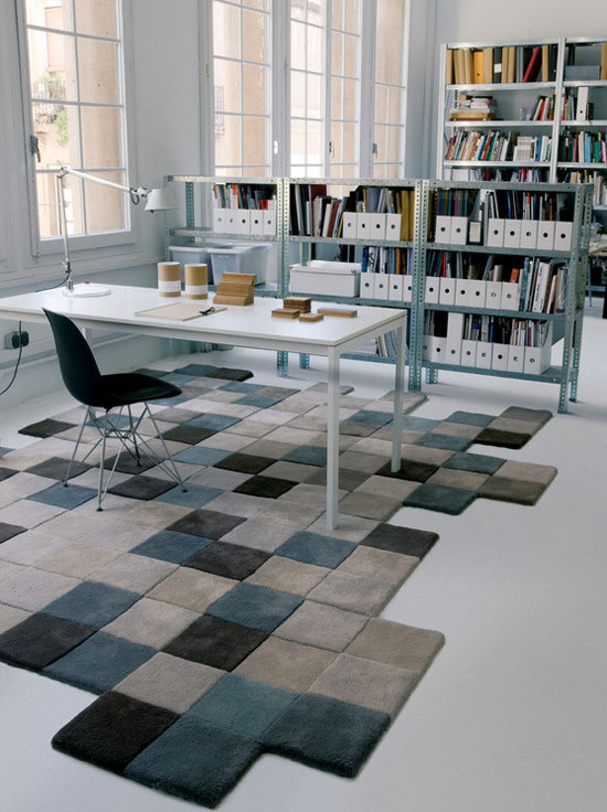 Tapis Do-Lo-Rez gris