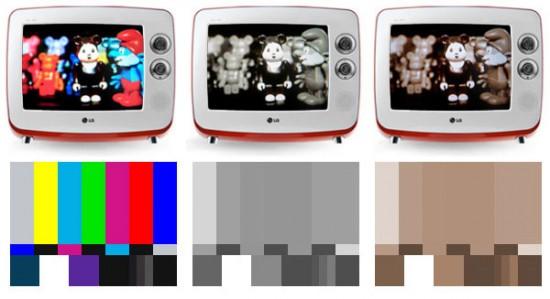 télévision rétro vintage LG série 1