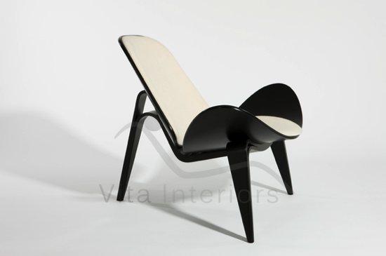 Chaise Style Hans J. Wegner CH07 Shell