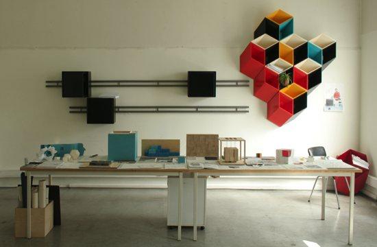 meuble de rangement 3D